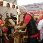 Transaksi Pameran UKM Pesta Rakyat Capai Rp 450 juta