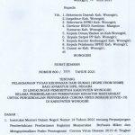 SE Bupati Wonogiri – WFH (Work From Home) 23 juni 2021 s/d 5 juli 2021