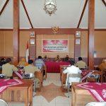 Rakor Penanganan Pencegahan Covid-19 di Kecamatan Jatiroto